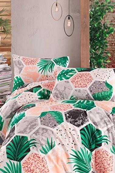 Lady Moda Hawai Terry Cotton Çift Kişilik Nevresim Takımı Renkli